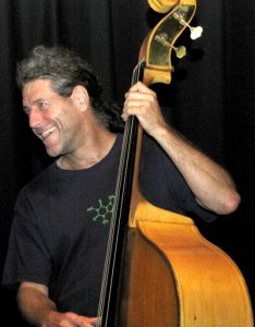 Paul Brown Playing the upright bass (photo: Margaret Loomis)