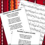 Balkan song graphic
