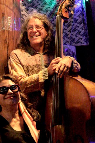 With Polly Tapia Ferber (photo: Biz Hertzberg)