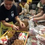 Michelle Tsigaridas Weller puts finishing touches on a sumptuous dessert platter. (Rachel MacFarlane)