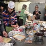 Batja Bell expertly supervises the busy Golden Fest kitchen crew (photo: Rachel MacFarlane)