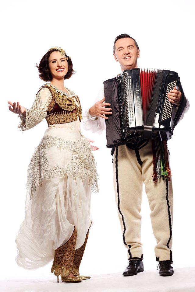 Merita Halili and Raif Hyseni.