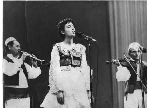 Merita in concert around 1982-83.