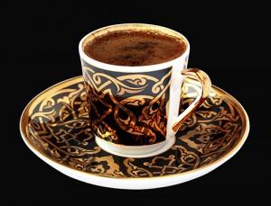 Turkish Coffee on black