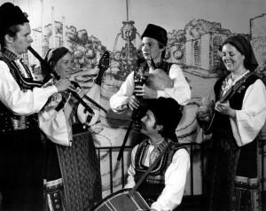 Marcus Moscoff (back) with Vitosha, 1979